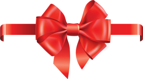 蝴蝶结礼物包装元素