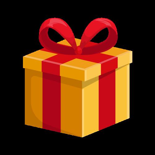 圣诞礼盒矢量图片