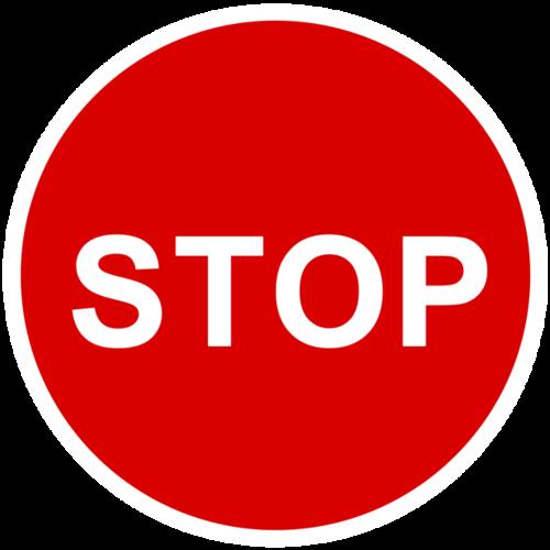 stop图标