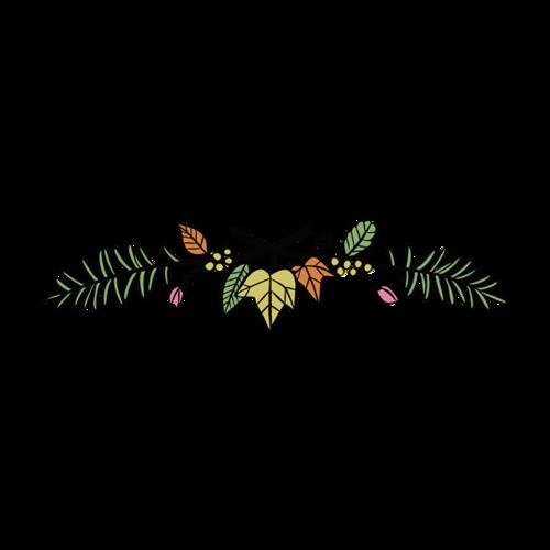 花边图案装饰
