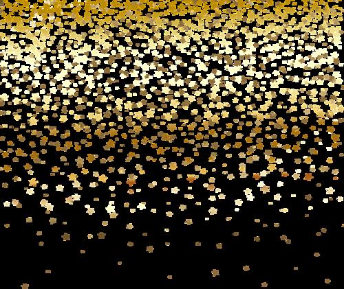 金色星星背景装饰