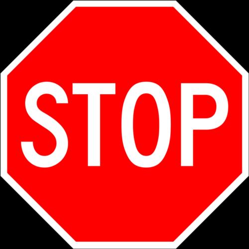 停止标志图片
