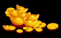 金币金元宝图片