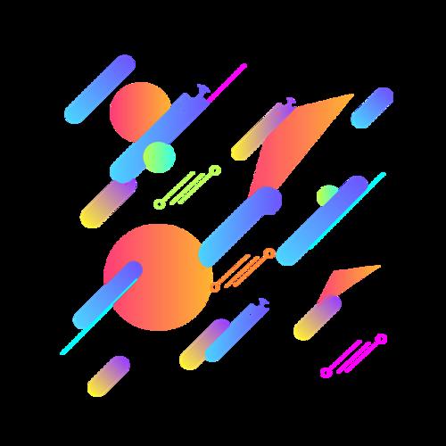 漂浮元素装饰