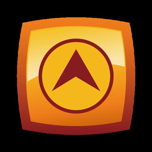 位置定位logo