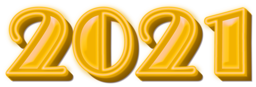 数字2021艺术字图片