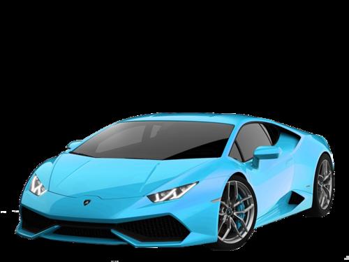 兰博基尼蓝色跑车图片
