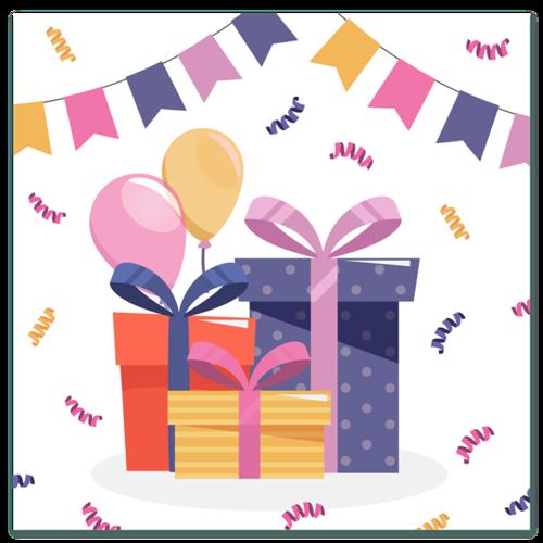 生日礼物礼盒图片
