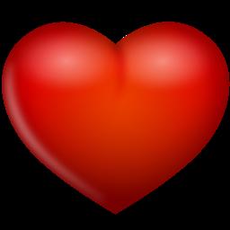 红色浪漫爱心装饰图案