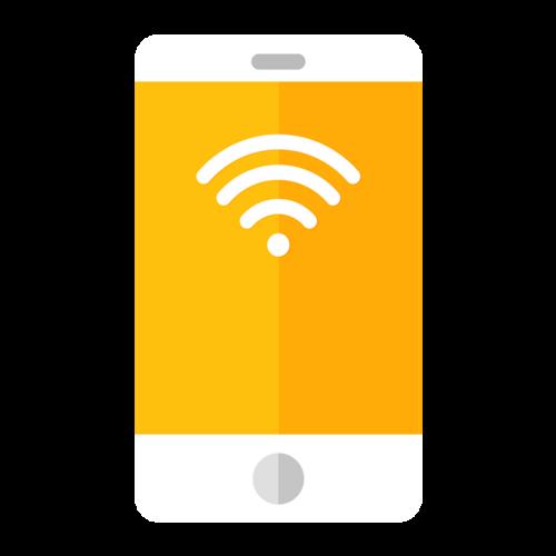 WiFi插画素材