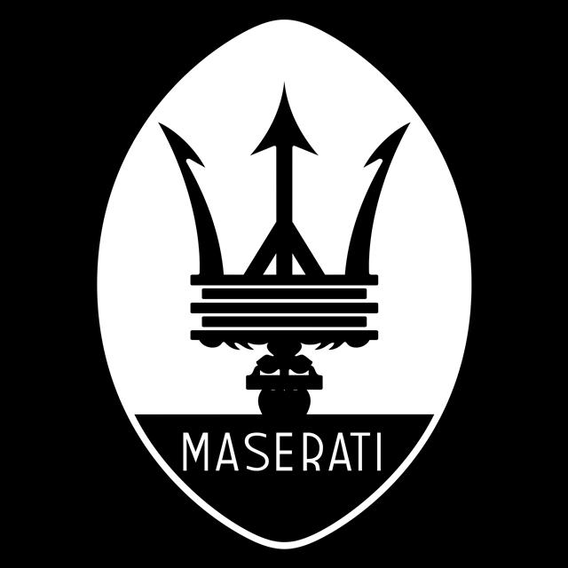 玛莎拉蒂车标logo