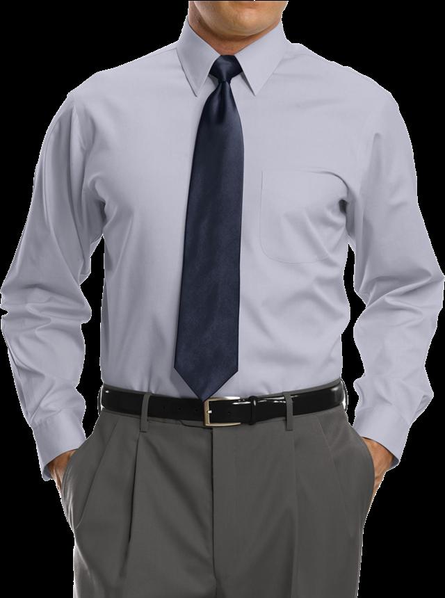 男士正装衬衫半身照