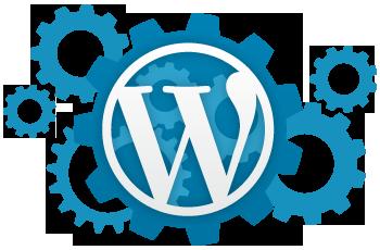 齿轮风WordPress徽标