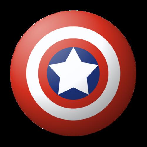 美国队长盾牌简笔画