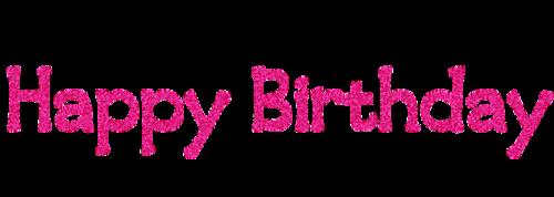 英文生日快乐字体