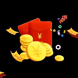 金币红包免抠图
