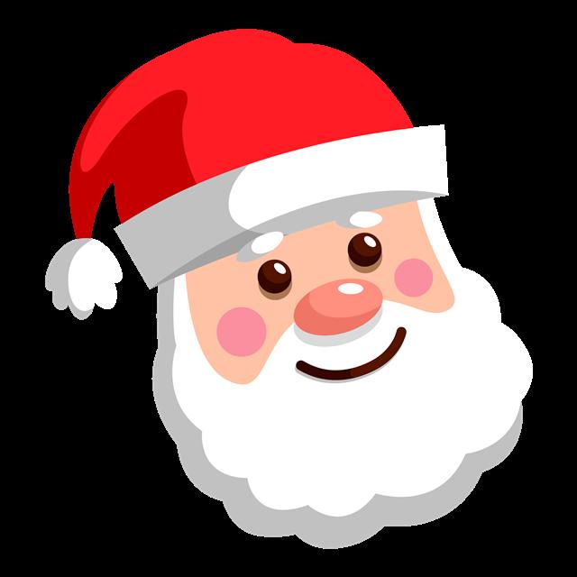 圣诞老人卡通头像图片