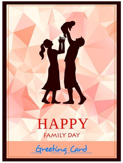 温馨家庭日海报