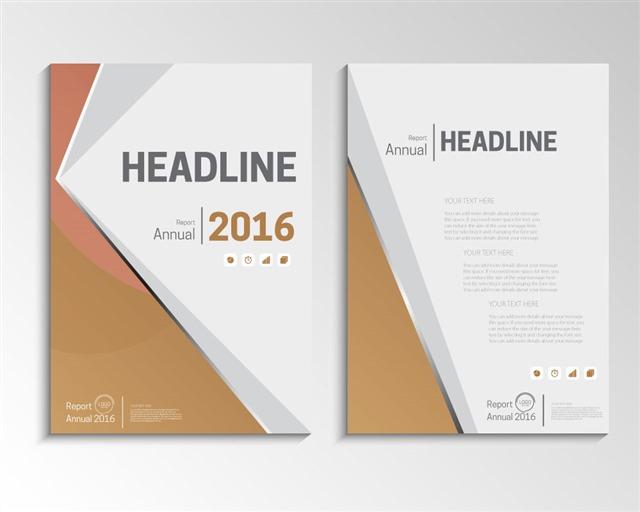 商业手册封面模板