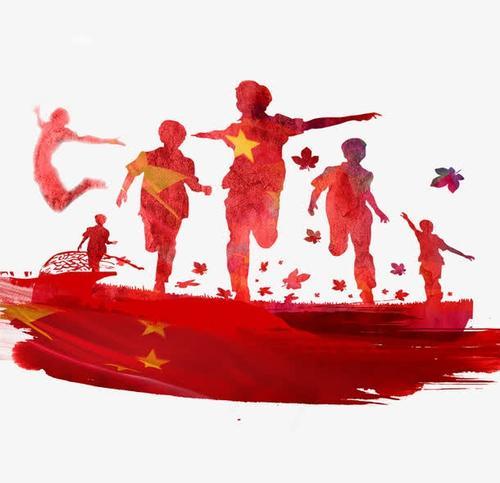 红色党政学生图片