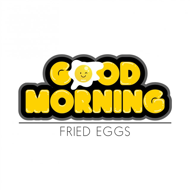 good morning可爱字体