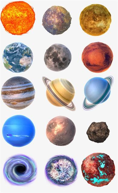 银河星球图片素材