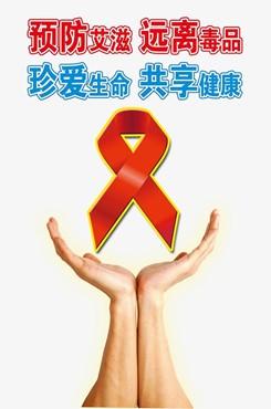 第33个世界艾滋病日宣传海报