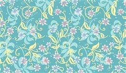 清新花卉底纹背景图