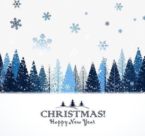 圣诞节英文贺卡制作图片