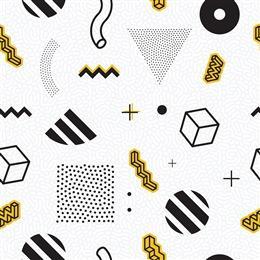 时尚几何图形背景