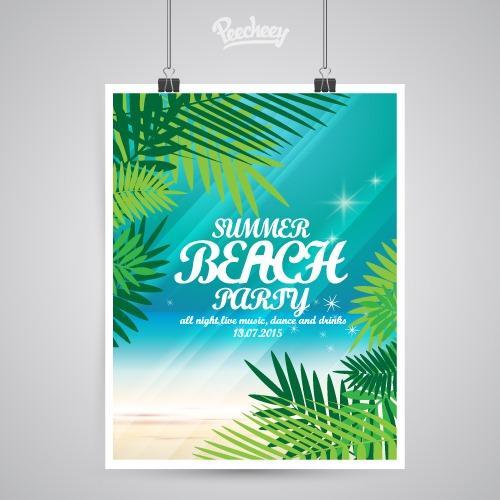 沙滩俱乐部海报