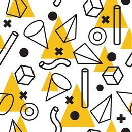 几何形状背景图