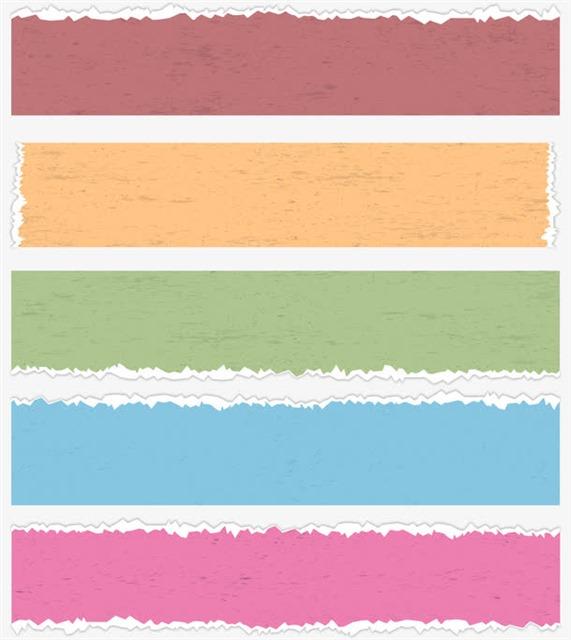 彩色标签框文本框