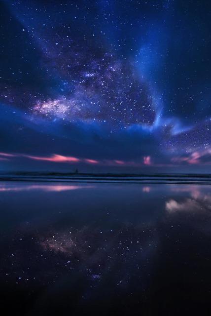 唯美梦幻星空星辰背景