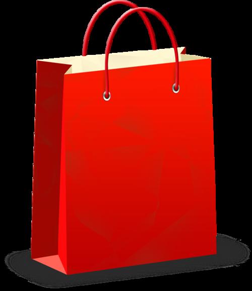 红色礼品手提袋