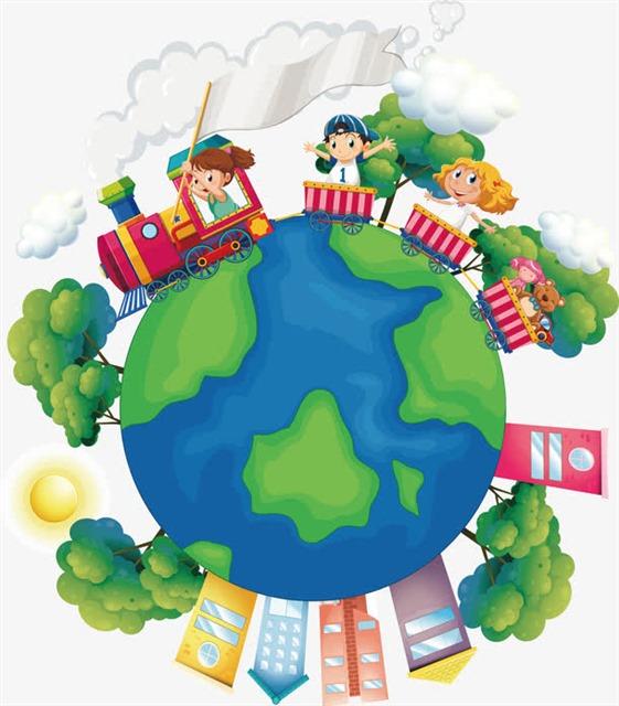 绿色地球公益宣传画