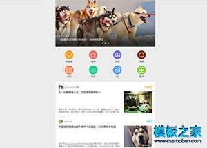 App新闻客户端html5模板