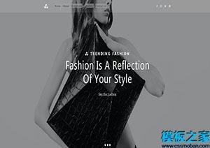 模特公司宣传模板