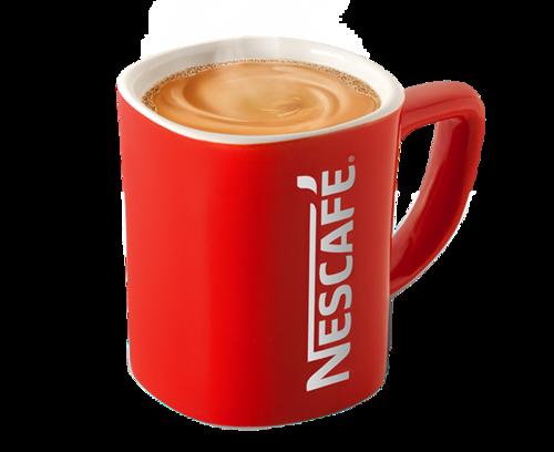 雀巢咖啡红杯子
