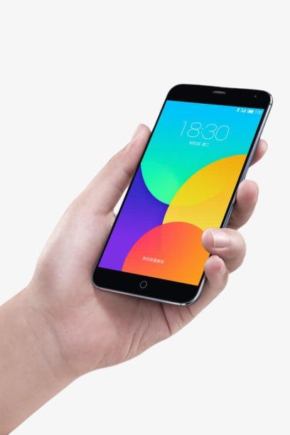 手拿智能手机免抠元素