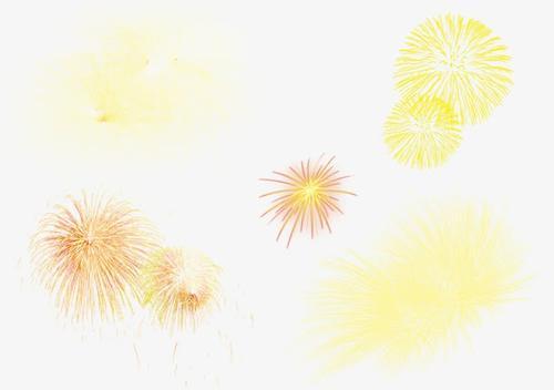 新年烟花爆竹元素
