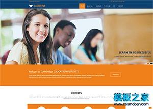 学校招生网站模板
