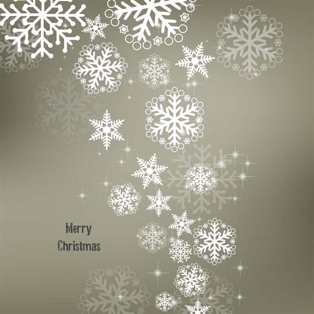 圣诞节雪花创意背景