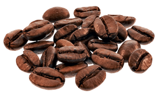 咖啡豆实物免抠