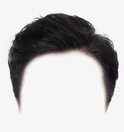 男士证件照发型免抠图