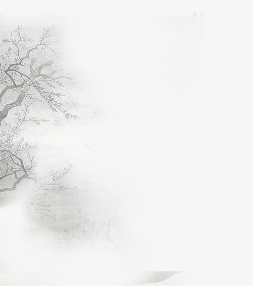 古风树枝图片