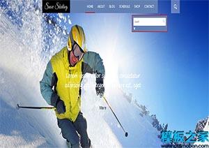 体育类购物网页模板