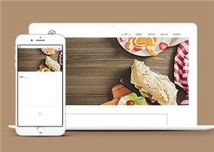 品牌面包企业官网整站HTML5模板