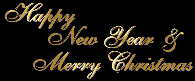 圣诞新年快乐字体设计