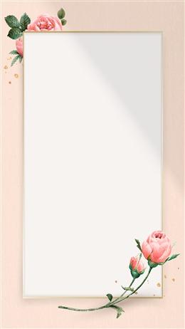 浅粉色ppt背景